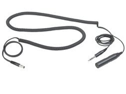 "AKG MKHS-STUDIO-C Cable, Headset, XLR Male to 1/4"" Male MKHS-STUDIO-C"