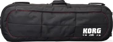 Korg CBSV173 Padded 73-Key SV-1 Electric Stage Piano Gig Bag with Wheels CBSV173