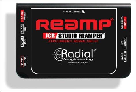 Radial Engineering JCR ReAmping Device JCR