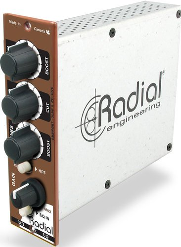 Radial Engineering Q3-RADIAL 500 Series 3-Band Induction Coil Equalizer Q3-RADIAL