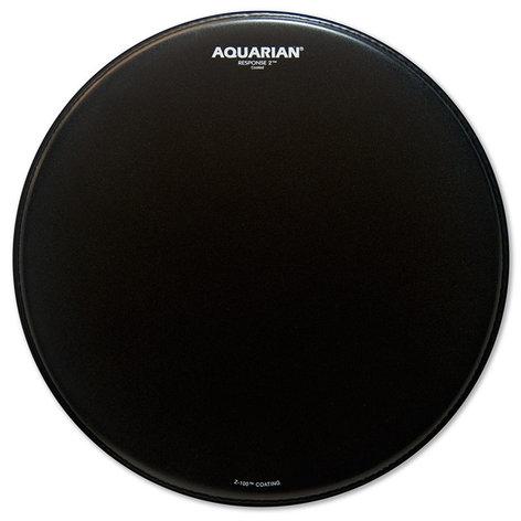 "Aquarian Drumheads TCRSP2-14BK 14"" Response 2 Coated Drum Head in Black TCRSP2-14BK"