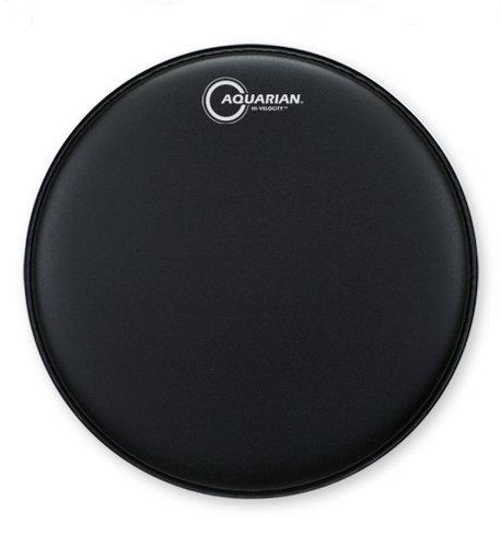 """Aquarian VEL13BK 13"""" Hi-Velocity Snare Drum Head in Black VEL13BK"""