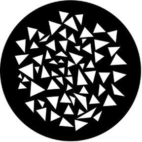Rosco Laboratories 77879 Triangle Breakup Gobo 77879