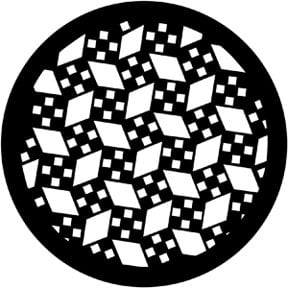 Rosco Laboratories 77914 Mosaic Gobo 77914
