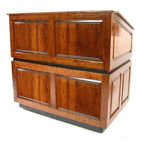 AmpliVox SN3035 Ambassador Solid Wood Multimedia Lectern without Sound SN3035