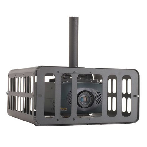 Chief Manufacturing PG3A Extra Large Projector Cage in Black PG3A