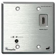 Intelix DIGI-HD-UHR2-WP-R HDMI over Twisted Pair Wallplate, Receiver only DIGI-HD-UHR2-WP-R