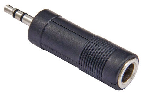 "Cable Up PF3-M3-ADPTR 1/4"" TRS Female to 3.5mm TRS Male Adapter PF3-M3-ADPTR"