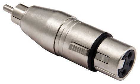 Cable Up by Vu XF3-RM-ADPTR XLR Female to RCA Male Adapter XF3-RM-ADPTR