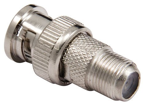 Cable Up by Vu FCF-BNC-ADPTR F Connector Female to BNC Male Adapter FCF-BNC-ADPTR
