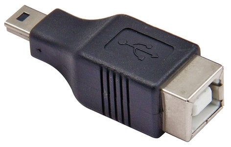 Cable Up by Vu USBB-USBMB-ADPTR USB Type B to USB Mini B Adapter USBB-USBMB-ADPTR
