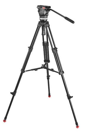 Sachtler System Ace M MS Tripod System for Smaller Cameras with Mid-Level Spreader 1001
