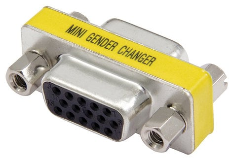 Cable Up by Vu DE15-DE15 DE15 VGA Coupler DE15-DE15