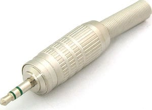 """Canare F12 3-pole Mini 1/8"""" cable Phone Plug/TRS, solder terminals F12-CANARE"""