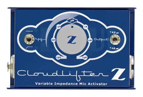 Cloud Microphones CLOUDLIFTER-CLZ Mic Activator, Single Channel, Variable Impedance CLOUDLIFTER-CLZ