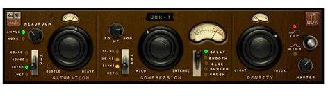 Kush Audio UBK-1 Software Plugin, Compressor, 3-Stage UBK-1