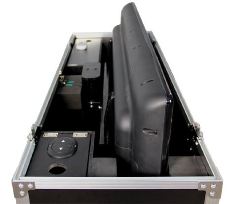 Gator Cases G-TOUR-ELIFT-55 Case, ATA, w/Electric LCD Lift G-TOUR-ELIFT-55