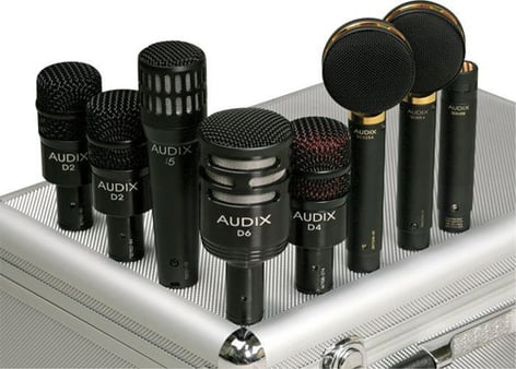 Audix STUDIO ELITE 8 Studio Mic Kit (Audix part#STE-8) STE-8