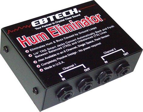 Ebtech HE2 2 Channel Hum Eliminator HE2