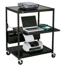 Bretford Manufacturing ECILS1-BK Projector Cart ECILS1-BK