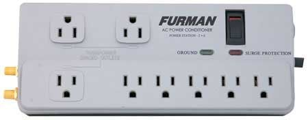 Furman PST-2+6 8-Outlet Surge Strip PST-2+6