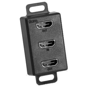 ikan HDMI-2-HDMI 1x In to 2x Out Passive HDMI Splitter HDMI-2-HDMI