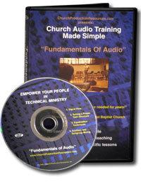 Church Prod. Resources FUNDAMENTALS-AUDIO Fundamentals of Audio, Church Audio Training DVD FUNDAMENTALS-AUDIO