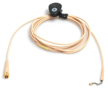 DPA Microphones CH16F00 d:fine Beige Microphone Cable with MicroDot for Earhook Slide CH16F00
