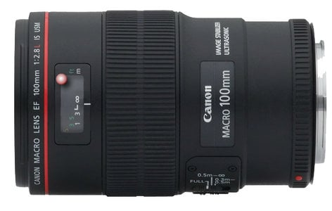 Canon 3554B002 EF 100mm f/2.8L Macro IS USM Lens 3554B002