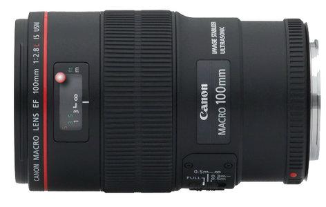 Canon 3554B002 EF 100mm f/2.8L Macro IS USM Lens 3554B002