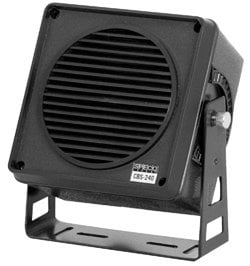 "Speco Technologies CBS-240B 5 Watt 4"" All-Weather Marine Extension Speaker CBS-240B"