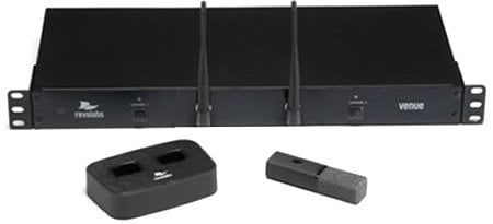 Revolabs 01-HDVENU-NM 2-Channel Executive HD Venue System, WITHOUT Microphone(s) 01-HDVENU-NM
