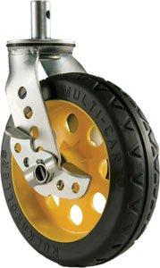 "Rock-n-Roller R8CSTR/RT 8"" x 2"" R-Trac Caster with Brake for R12RT Multi-Cart R8CSTR/RT"