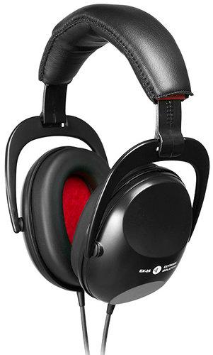 Direct Sound Headphones EX-25 Extreme Isolation Headphones in Black with -25 dB Passive Isolation EX-25