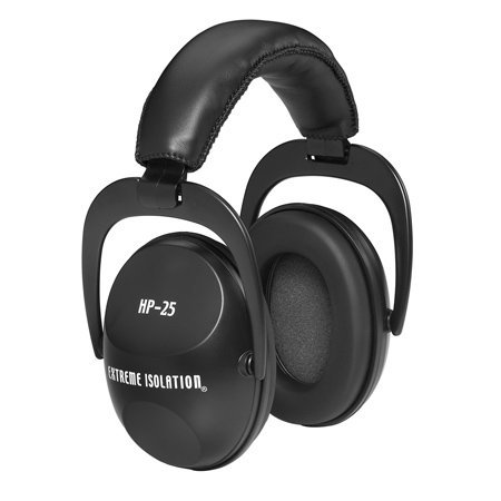 Direct Sound Headphones HP-25 Practice Ear Muffs, Black HP-25
