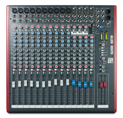 Allen & Heath ZED-18 Mixing Console with USB Port ZED-18