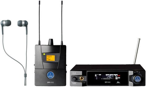 AKG IVM4500 IEM Set Reference Wireless In-Ear Monitoring System IVM4500