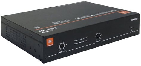 JBL CSA2120 2x120 Watt Power Amplifier, 4/8 Ohms CSA2120