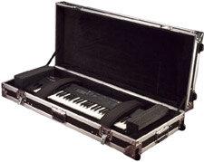 Gator Cases G-TOUR-61V2 Hardshell 61-Key Keyboard Case G-TOUR-61V2