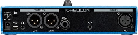 TC Helicon VoiceLive Play Harmony and Effects Pedal VOICELIVE-PLAY