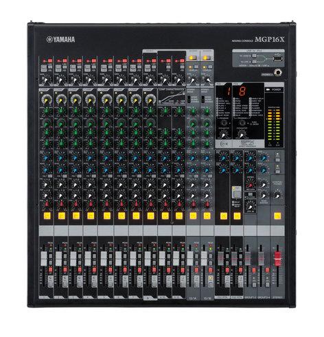 Yamaha MGP16X 16-Channel Compact Analog Mixer MGP16X-CA