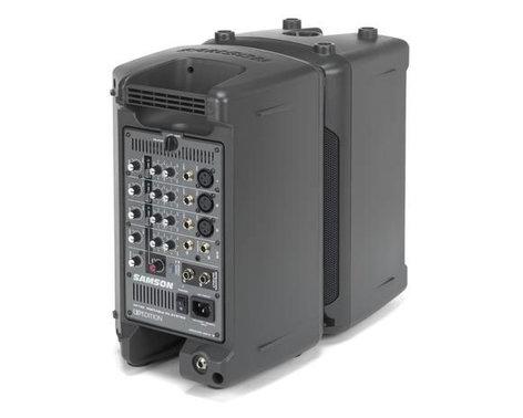 """Samson XP150 6"""" 2 Way Portable PA System XP150"""