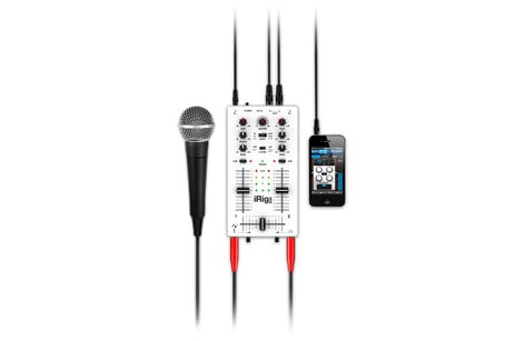 IK Multimedia iRig MIX Mobile Mixer for iPhone/iPad/iPod touch IRIG-MIX