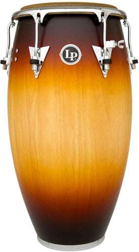 "Latin Percussion LP552X-MSB 12-1/2"" Classic Model Tumbadora in Matte Sunburst Finish with Chrome Hardware LP552X-MSB"