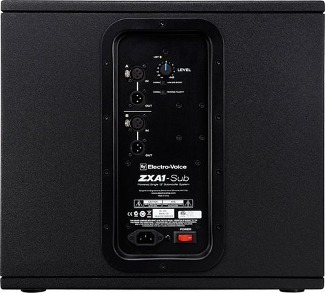 Electro-Voice ZXA1-SUB 120V 700W Powered Subwoofer ZXA1-SUB-120V