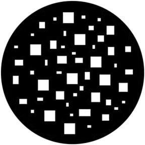 Rosco Laboratories 78545 Squaretastic Gobo 78545