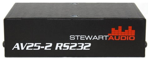 Stewart Audio AV25-2 RS232 25W Sub Compact 2 Channel Amplifier with RS232 AV-25-2-RS232