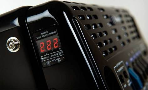 Roland FR1X-BK FR1X V-Accordian Piano-Type Digital Accordion in Black with Speaker FR1X-BK