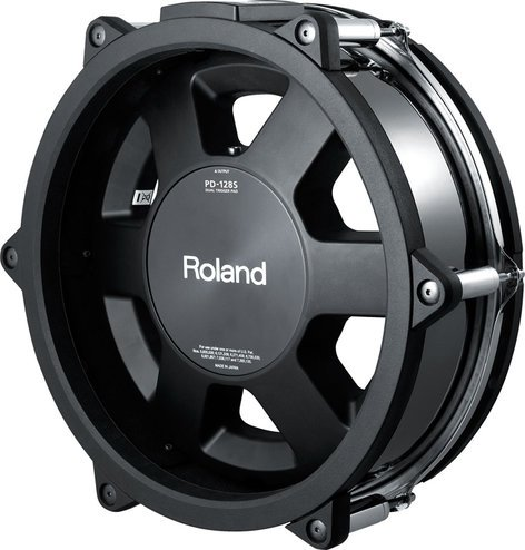"Roland PD128SBC Black Chrome 12"" V-Pad Snare for TD30KV V-Drums Kit PD128SBC"