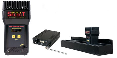 Sports Select SPL-ISSS2 Tabletop Speaker Starter Kit with 3 Transmitters & 6 Receivers SPL-ISSS2